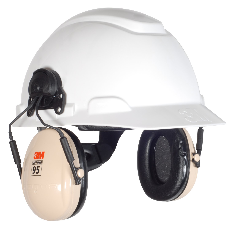 3M Peltor H6P3E/V Optime 95 Helmet Attachable Earmuff: Amazon.es: Bricolaje y herramientas
