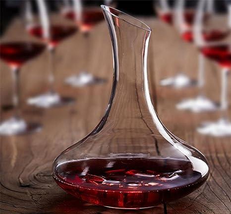botella única de la botella de vino de la botella dispensador de vasos recipiente de vidrio