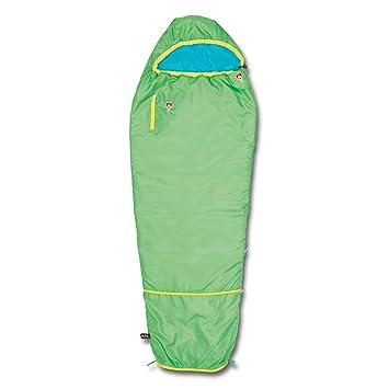 Grüezi-Bag 05756 - Saco de Dormir Multifuncional, Para Niños, Ultraligero, Verde: Amazon.es: Deportes y aire libre