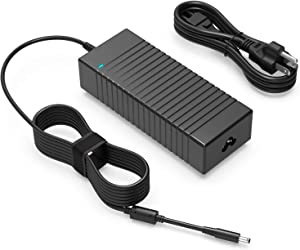 130W AC Charger Fit for Dell XPS 15 9560 9570 9550 9530 7590 Precision M3800 5510 5520 5530 5540 DA130PM130 HA130PM130 P56F P31F Laptop - Power Supply Adapter Cord
