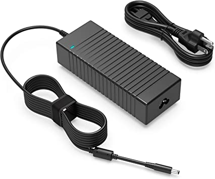 130W AC Charger for Dell XPS 15 9560 15.6 Laptop-Power Supply Adapter Cord