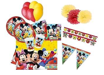 DECORATA PARTY Juego de Mesa para cumpleaños Mickey Mouse ...