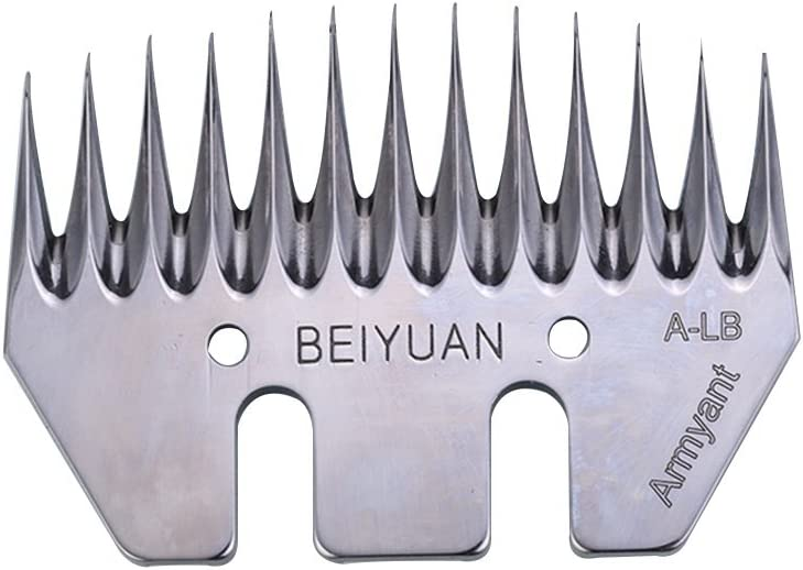 13T Strength Straight Blade for Goat Shearing Sheep Clipper Heiniger Oster