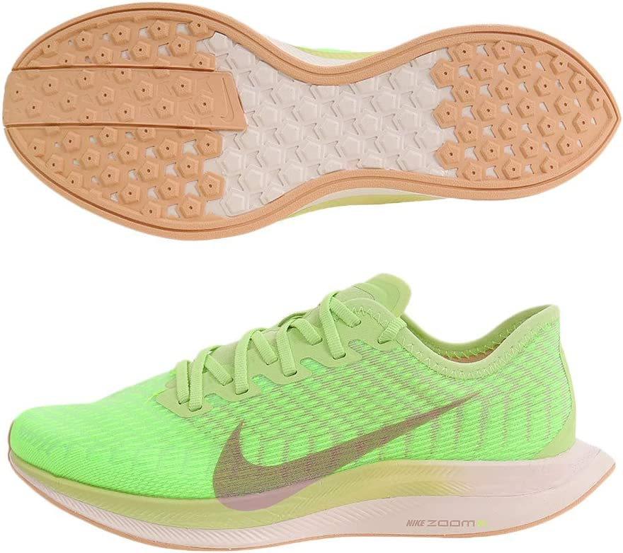 Nike Performance Air Zoom Pegasus Turbo 2 - Zapatillas de Running para Mujer, Verde neón/marrón, 7.5 US - 38.5 EU - 5 UK: Amazon.es: Deportes y aire libre