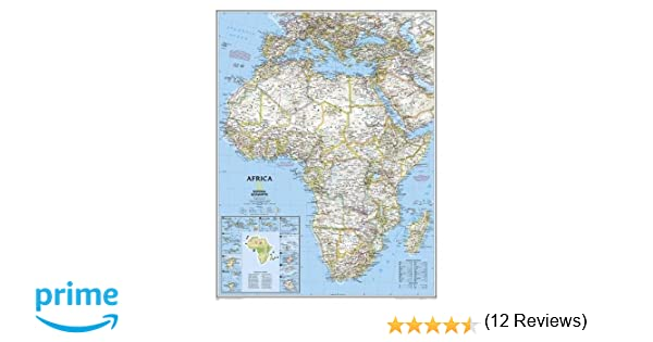 Africa classic enlarged and tubed national geographic reference africa classic enlarged and tubed national geographic reference map 9780792281054 reference books amazon gumiabroncs Choice Image