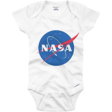 ee3bbd8dd Amazon.com: Little NASA Space Baby: Infant Gerber Onesie: Clothing