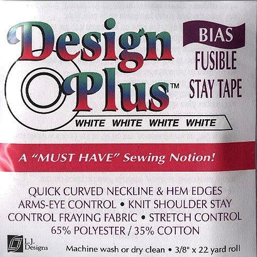 LJ Designs LJ-003 Bias Fusible Tape by LJ Designs