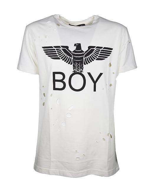 Boy London T-Shirt Aquila con Rotture  Amazon.it  Abbigliamento 1880b94cda2