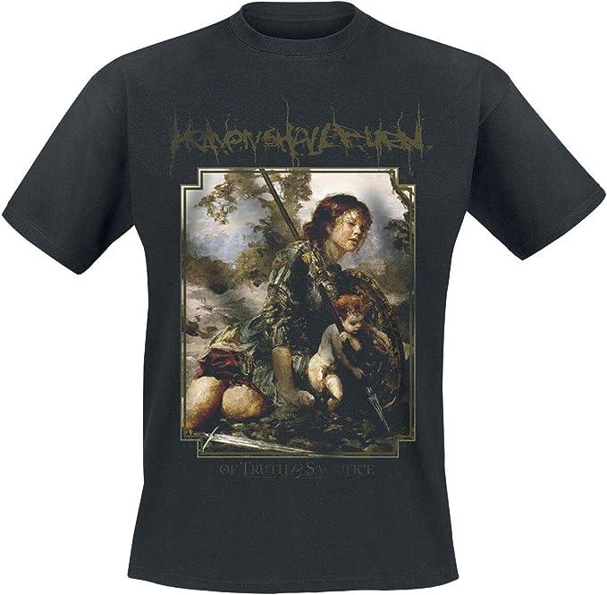 Heaven Shall Burn of Truth and Sacrifice Cover M/änner T-Shirt schwarz Band-Merch Bands
