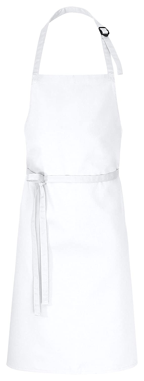 DESERMO 5er Pack Latzschürzen 100 x 80 cm beige 35% Baumwolle   65% Polyester B074N46TG2 Schürzen