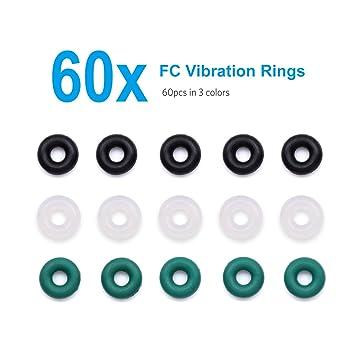 Amazon.com: 60pcs O-rings Nitrile Vibration Isolation Flight ...