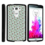 LG G3 Case, Slim Fit Snap On Cover with Unique, Customized Design for LG G3 (D850, D851, D855, VS985, LS990, US990) by MINITURTLE - Rose Heart Pattern