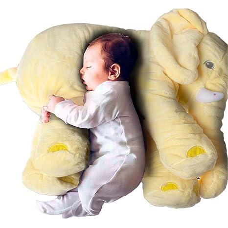 sdtdia Almohada de Elefante, Animales de Peluche, Almohadas de Felpa para bebés Que Duermen