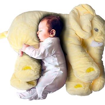 sdtdia Bebé Suave Felpa Elefante niños Cojín Lumbar Juguete ...