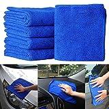 5Pcs Towel Car - Chamois Cloth Car - Car Drying Towel Chamois - Car Shammy Towel - Car Wash Cloth Car Drying Chamois - Car Chamois Chamois Towel Car - Super Absorbent Towel Shammy Cloth
