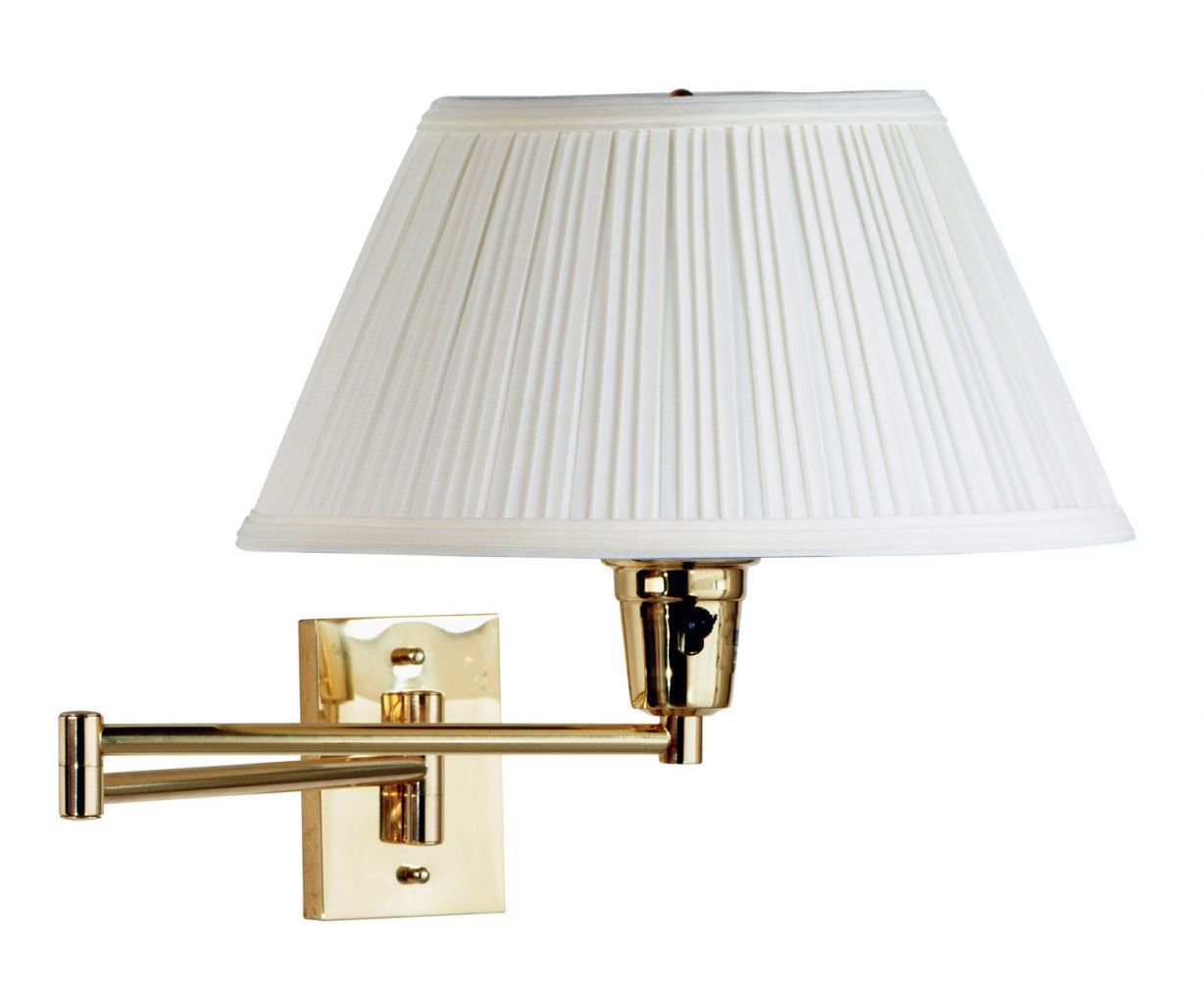 Kenroy Home Element Wall Swing Arm Lamp - 16W in. Polished