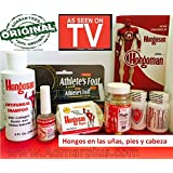 Hongosan Kit Completo Hair Skin and Nails Fungus , Athlete´s Foot, Caspa,