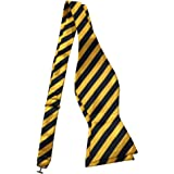 Ainow Classic Polka Dots Bowties Woven Microfiber Self Tie Bow Tie - Various Colors