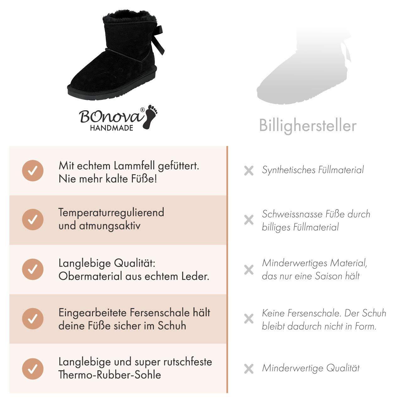 BOnova Oslo Lammfellstiefel in 3 3 3 Farben 07f1e4