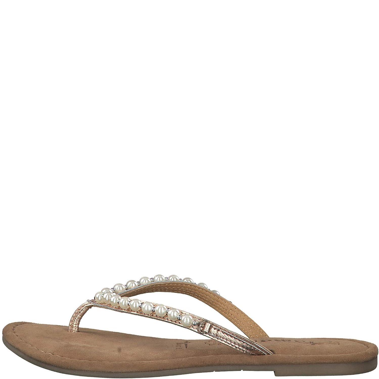 Tamaris 1 1 27141 22 Damen FlipflopsLeder,Sandale,Sandalette,hochwertig,bequem,leicht,Sommer,Strandschuhe,Touch IT