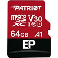 Patriot EP A1 microSD Card SDXC 64GB for Android Phones and Tablets, 4K Video Recording PEF64GEP31MCX