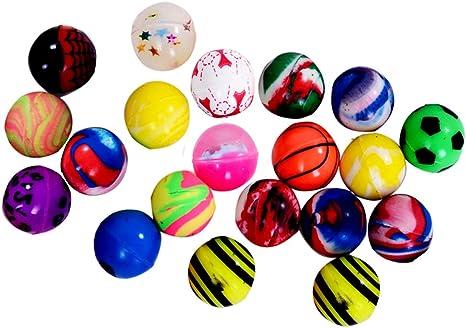 PINATA FAVOUR BIRTHDAY,SCHOOL,CHRISTMAS 50 X JET BOUNCY BALL PARTY BAG FILLER