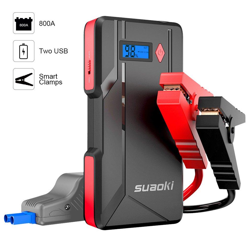 800aBooster Suaoki De Voiture Démarreur Démarrage Batterie P6 O8nkP0w
