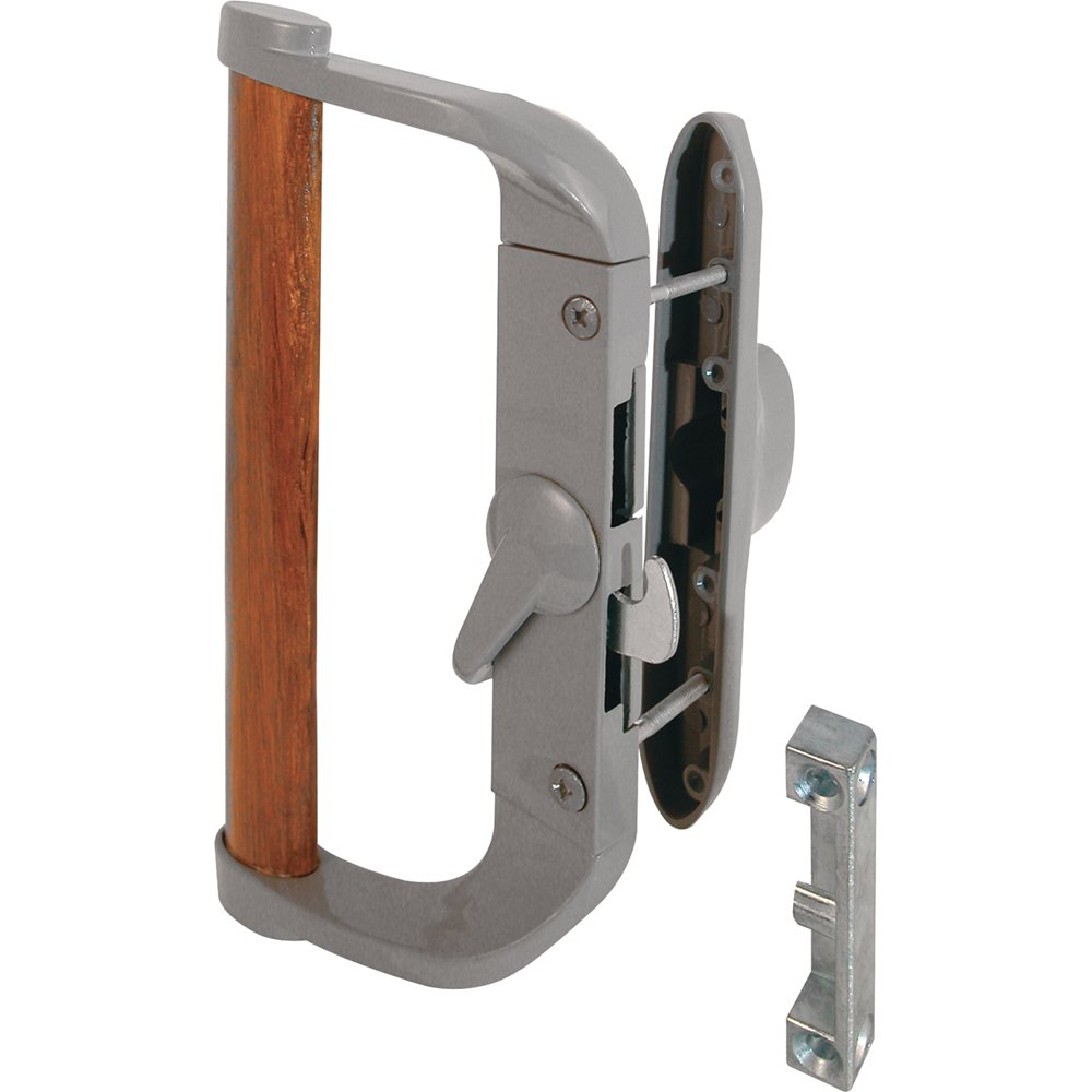 Slide-Co 14950 Sliding Door Handle Set, Aluminum/Diecast
