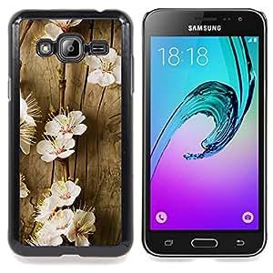 """Planetar ( Flores del árbol de la primavera floreciente Blanco Naturaleza"""" ) Samsung Galaxy J3(2016) J320F J320P J320M J320Y Fundas Cover Cubre Hard Case Cover"""