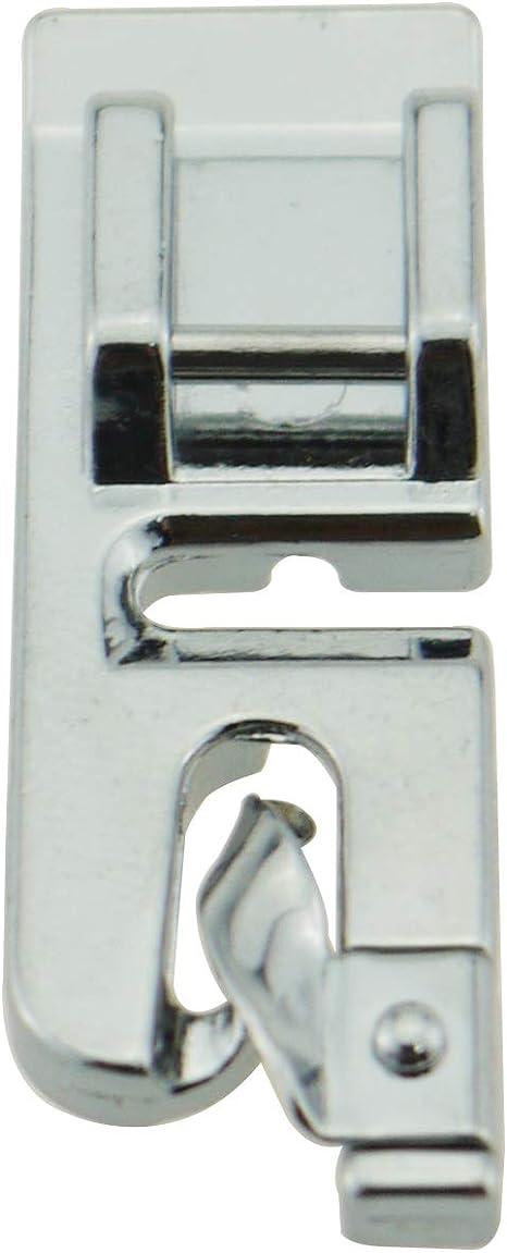 ZIGZAGSTORM 006900008 - Prensatelas para máquina de coser de 3 mm con dobladillo estrecho para Singer, Brother, Babylock, Euro-Pro, Janome, Kenmore, White, Juki, Simplicidad, Elna 7307R: Amazon.es: Hogar
