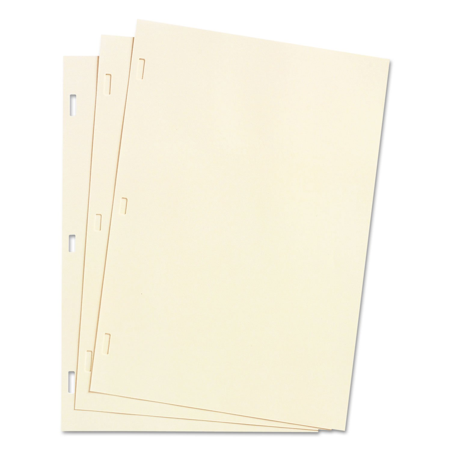 Wilson Jones, 901-30, Looseleaf Minute Book Ledger Sheets, Ivory Linen, 14 x 8-1/2, 100 Sheet/Box, Sold As 2 Boxes by Wilson Jones