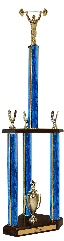 ウエイトリフティングTriple列Trophy – 37インチ