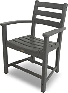 Trex Outdoor Furniture Monterey Bay Dining Arm Chair, Stepping Stone