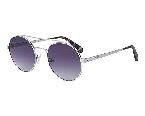 Guess - Gafas de sol - para hombre Plateado plata Large ...