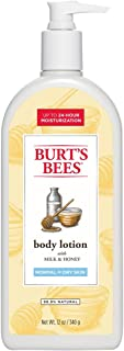 product image for Burt's Bees Milk and Honey Body Lotion, 12 Ounces (Pack of 3)