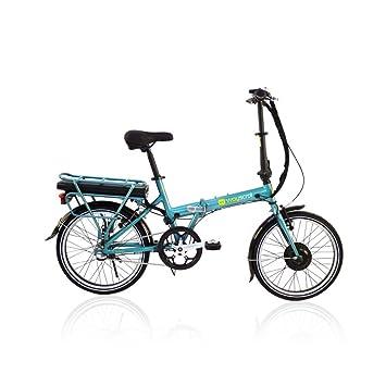 Wayscral Flexy 215 - Bicicleta eléctrica (36V), color verde