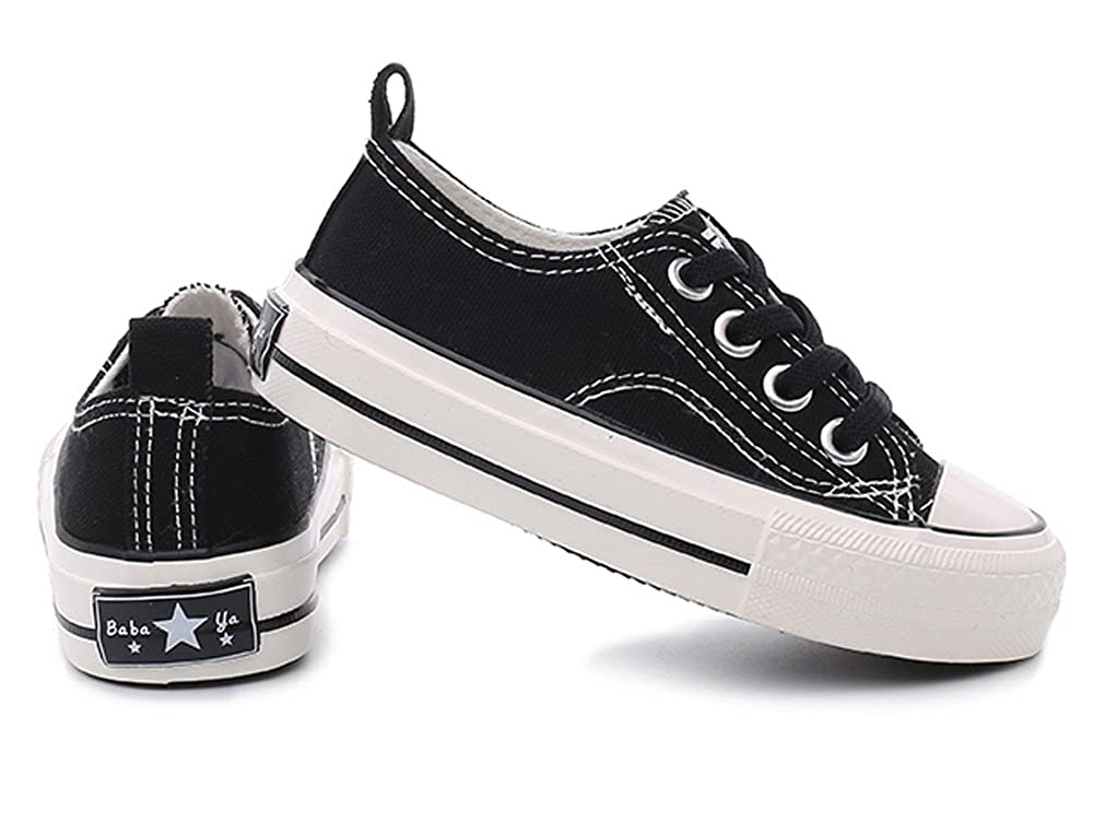 Toddler//Little Kid//Big Kid iDuoDuo Boys Girls Candy Color Casual Slip On Cute Board Canvas Shoes Sneakers