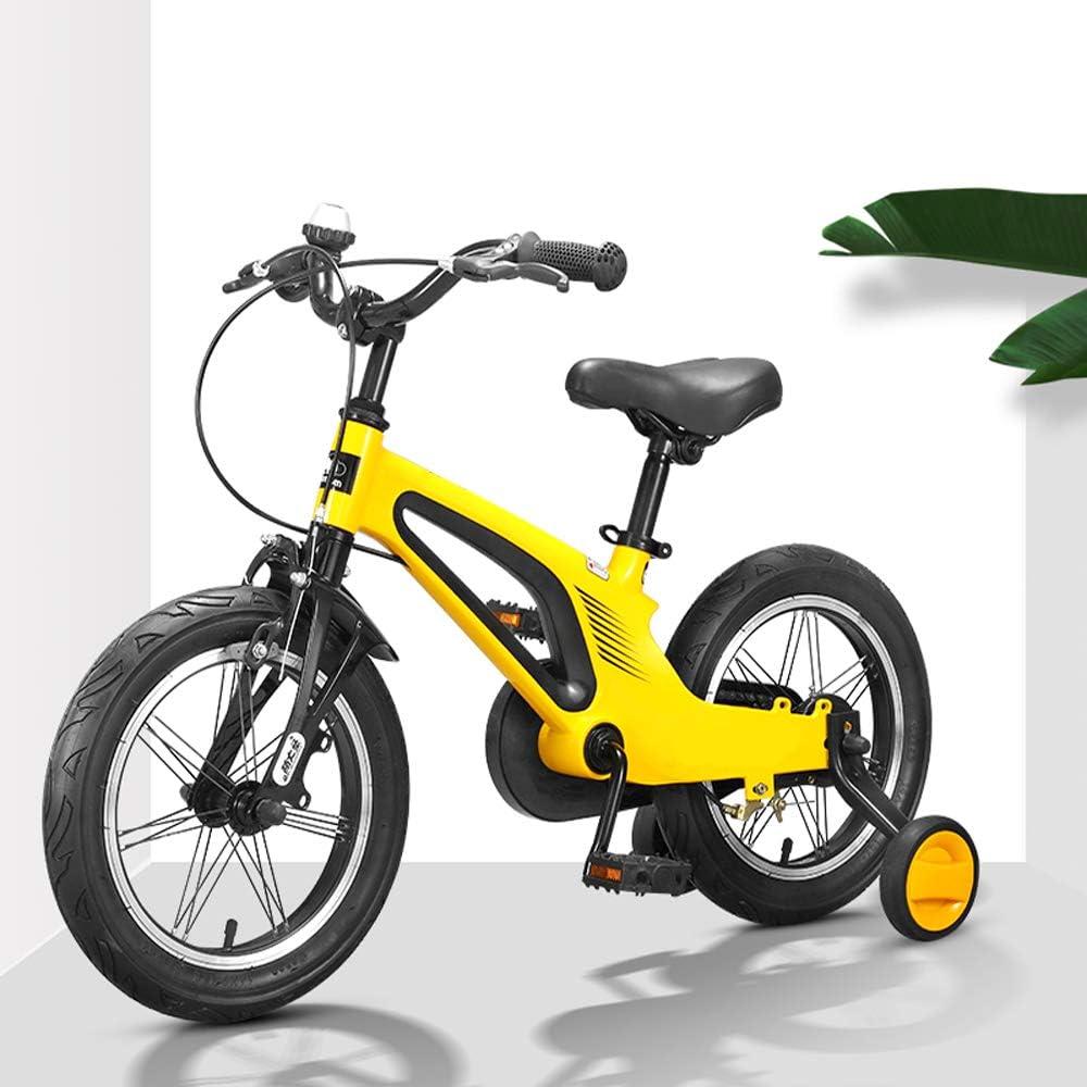 Momi Bicicleta Trasera para Niños Y Niñas De 3-8 Años, Rueda Trasera, Bicicleta Ligera De Equilibrio De 14 Pulgadas Y 16 Pulgadas