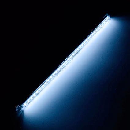 MASUNN 12V 50Cm Led Strip Light Bar 5630 Smd Interior Lámpara Para Coche Van Caravana Barco
