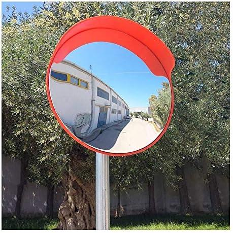 カーブミラー 道路ブラインドスポットガレージ絞り込み用幅80cm角セーフティミラー凸面鏡PC日焼け止め防水耐久性のあります RGJ3-31 (Size : 450mm)