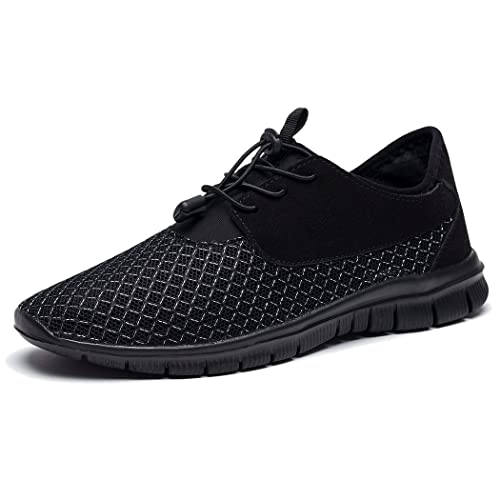 Kensbuy - Zapatos Planos con Cordones hombre , color Marrón, talla 42
