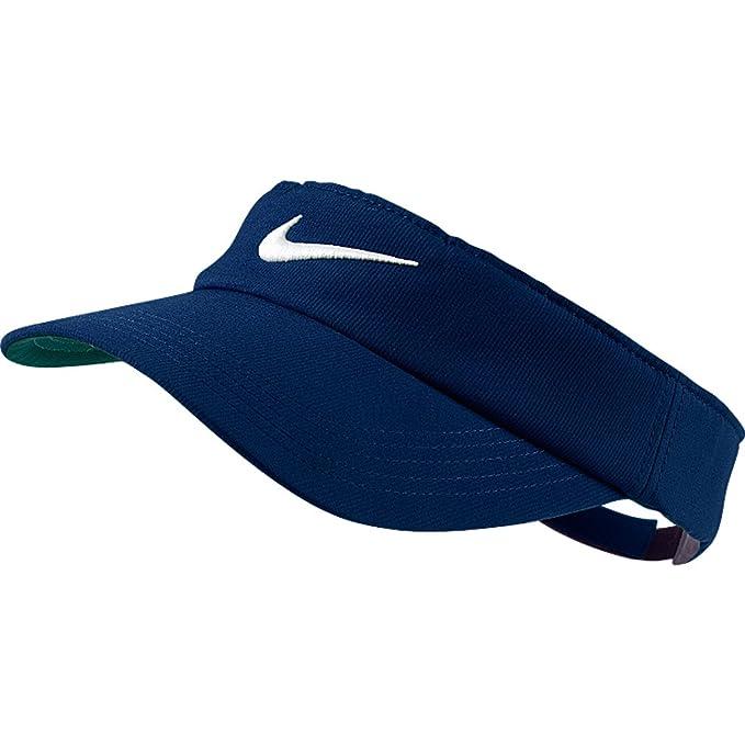 f144927a77a6e Nike Tech Swoosh visera azul marino  Amazon.es  Ropa y accesorios
