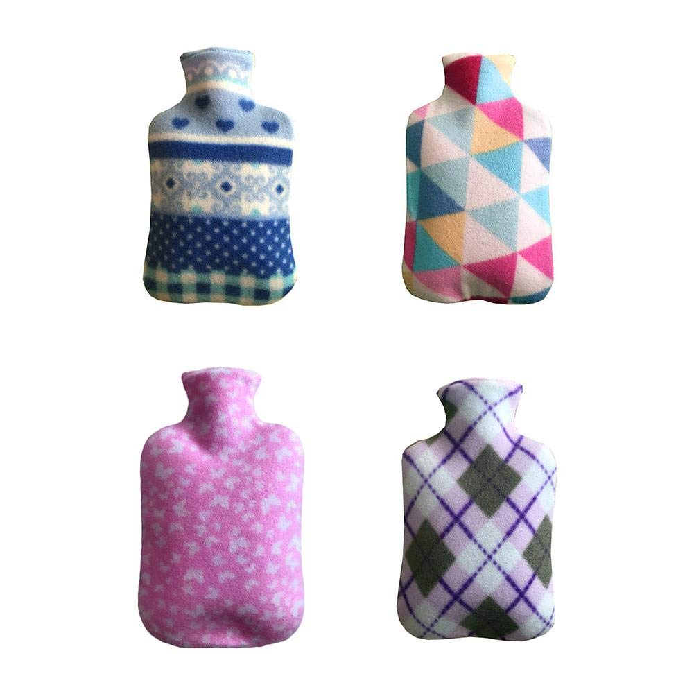 Extra Large Hot Water Bag Warm Your Clod Hands//Hand Warmers Bottle with Soft Fleece Cover