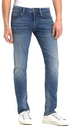855d7e70302 Tommy Hilfiger Jeans uomo Light BLU  Amazon.es  Ropa y accesorios