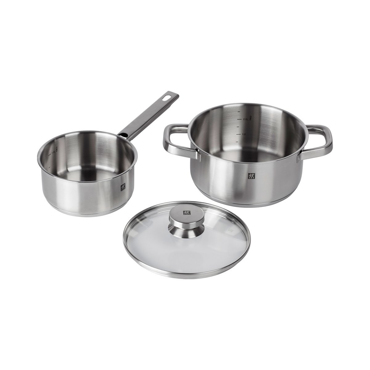 Zwilling Lot de 3 casseroles pour Cuisine Motif Jumeaux 3 pi/èces