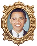 Dollhouse Miniature 1:12 Scale Obama Picture in Frame #Tin0044