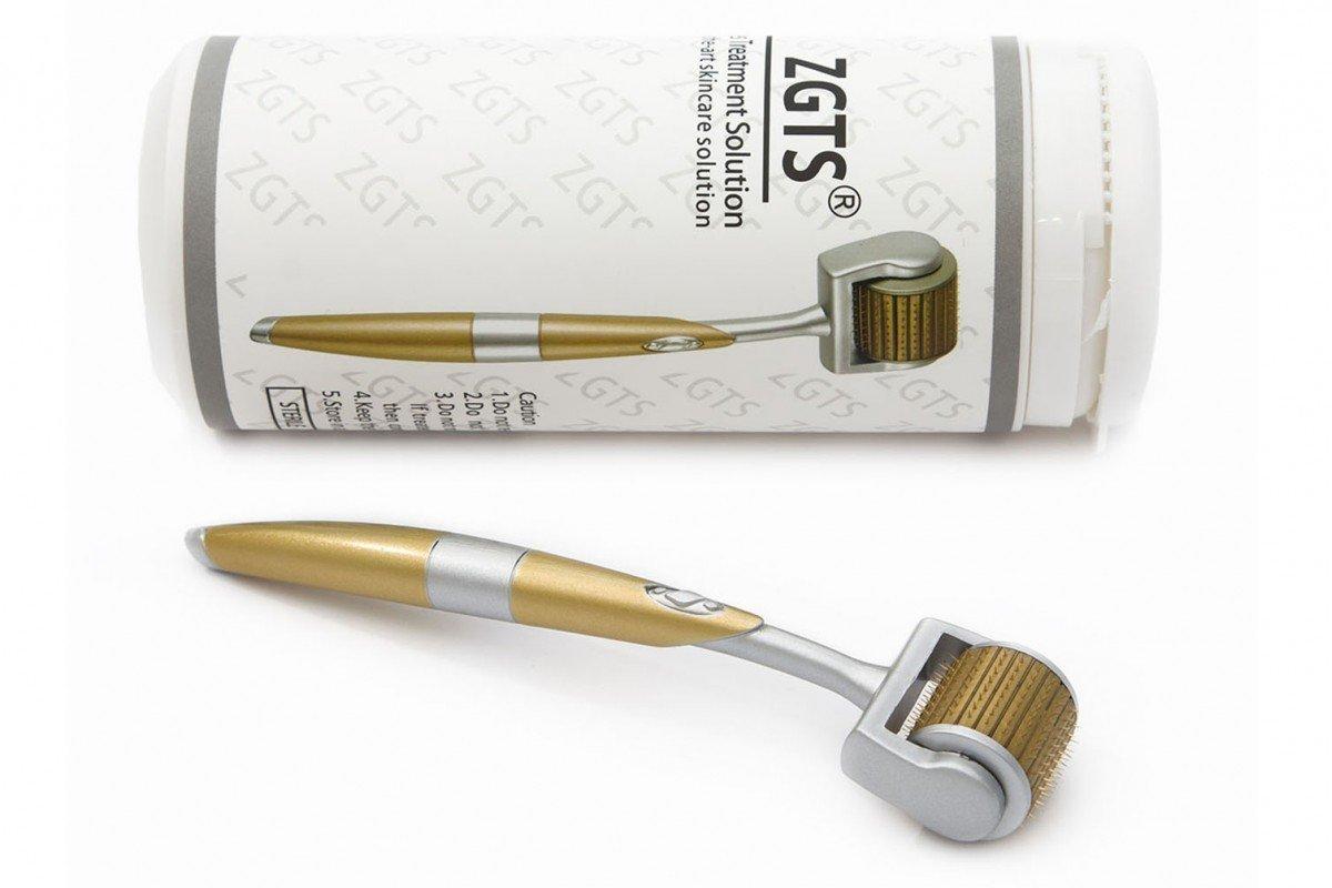 ZGTS Derma Roller, rullo per la cura della pelle con microaghi in titanio, tutte le misure: 0,20mm, 0,25mm, 0,30mm, 0,50mm, 0,75mm, 1mm, 1,5mm, 2mm, 2,5mm 20mm 25mm 30mm 50mm