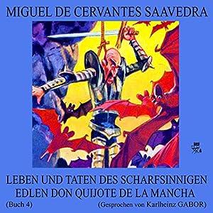 Leben und Taten des scharfsinnigen edlen Don Quijote de la Mancha: Buch 4 Hörbuch