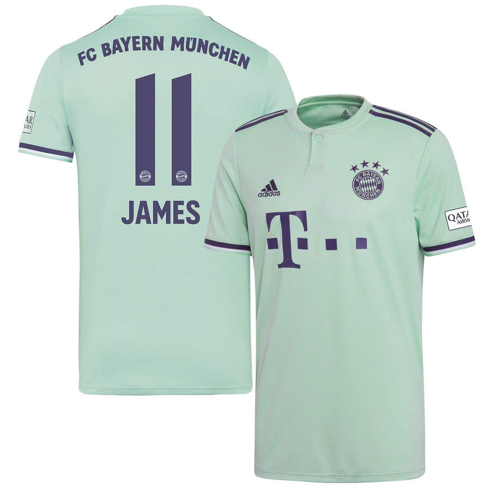 Player Print - adidas Performance Bayern München Away Trikot 2018 2019 + James 11