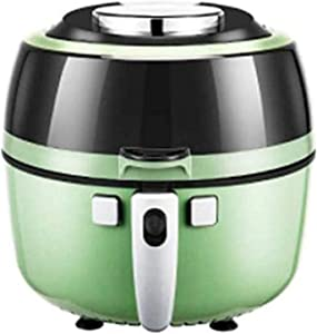 CHENNA Oil-Free Air Fryer Electric Pan Fries Machine Household Automatic Smart Non-Stick Pan, LED Digital Touch Screen and Detachable Basket, 6.5L